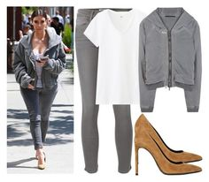 """""""431.Celebrity Style : Kim Kardashian"""" by laurie-82 ❤ liked on Polyvore"""