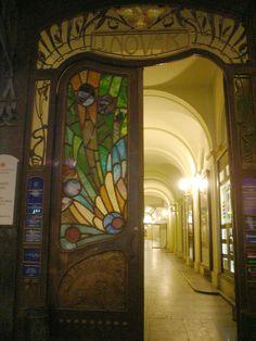 Art deco door, Prague