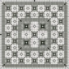 2 - Flowers in the Garden - Lee Albrecht: biscornu - Speranza