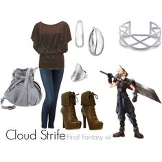 Cloud Strife, created by tuffchica  Final Fantasy VII
