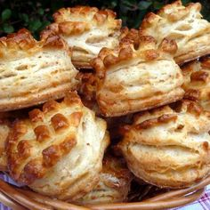 Hungarian Recipes, Winter Food, Baked Potato, Camembert Cheese, Cauliflower, Waffles, Food And Drink, Vegetables, Breakfast