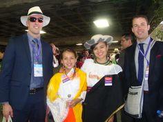 Delegados de Estados Unidos. Asamblea Internacional Quito-Ecuador 2015
