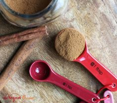 Raw Vegan Cinnamon Spice Cheesecake Tart