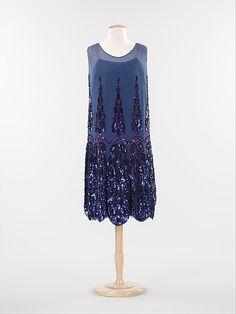 Evening dress Anne & Thérèse (French) Date: ca. 1925 Culture: French Medium: silk