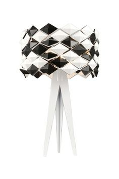 Alina Table Lamp by Sleek Lighting and Accent Tables on @HauteLook