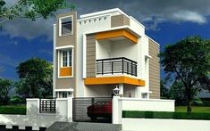 Architecture Home Design Projects Inspirations for Yours Glory Architecture House Elevation Islamabad Exterior 4 Plan Elevations 3 Storey House Design, Duplex House Design, Duplex House Plans, House Front Design, Small House Design, Cool House Designs, Modern House Design, Independent House, Front Elevation Designs