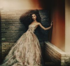 """/ Photo """"From the shadows .**"""" by Petrova JuliaN Handmade Wedding Dresses, Custom Wedding Dress, Designer Wedding Dresses, Themed Photography, Big Dresses, Hair Pictures, Dress Making, Hair Inspiration, Ball Gowns"""