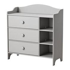 IKEA - TROGEN, Commode, , Avec 3 tiroirs pour un vaste espace de rangement.Tiroir équipé d'arrêt pour éviter qu'il ne sorte complètement et tombe sur les pieds.