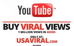 NEW SITE! BUY YOUTUBE VIEWS | GET MORE VIEWS, hits, plays 'GO VIRAL' 1 million views CHEAP & FAST