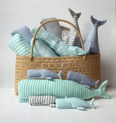 Who doesn't love a basket of whales??!!!!                                                                                                                                                      Plus
