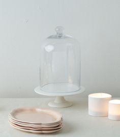 Atelier Make peach dessert plates