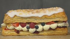 This puff pastry dessert is a delicious alternative and a great recipe to have up your sleeve if you have short notice of visitors arriving. I always keep a block of puff pastry in the freezer for such occasions.