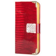 This luxury Rhinestone Inlaid Magnetic Leather case keeps your beloved iPhone 5C safe and brings elegant looks and unique personality. High quality leather case offers your iPhone 5C all round protection in worst condition. Lightweight, durable, flexible and eye-catching.    Brand new and high quality Elegant Magnetic Leather Case Stand for iPhone 5C. Made of durable high-grade and luxurious patent leather material, more comfortable feeling to hold. With inner case and magnetic design, hold…