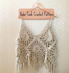Débardeurs Au Crochet, Gilet Crochet, Crochet Video, Crochet Shirt, Crochet Crop Top, Basic Crochet Stitches, Crochet Basics, Crochet Granny, Free Crochet