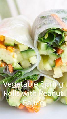 Good Healthy Recipes, Healthy Snacks Vegetarian, Veggie Recipes, Asian Recipes, Appetizer Recipes, Whole Food Recipes, Vegetarian Recipes, Vegetable Appetizers, Healthy Eating