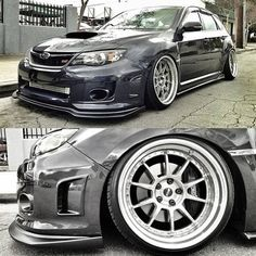 Subaru STI this is the gunmetal gray i want my soon to be subj to be