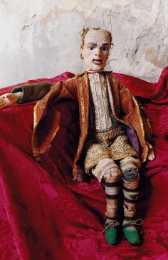 C18th marionette which belonged to Carlo Goldoni.