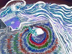 Ver más aya de la línea del horizonte y traspasar las olas by @jinwesst x @orilladesol