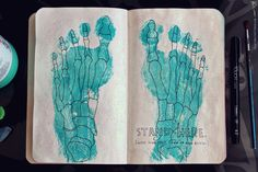 Wreck This Journal: Page 4, 5 by MichaelaKindlova.deviantart.com on @DeviantArt
