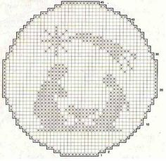 Photo - Her Crochet Crochet Christmas Ornaments, Christmas Embroidery, Christmas Cross, Hexagon Quilt Pattern, Quilt Patterns, Crochet Patterns, Filet Crochet, Crochet Stitches, Cross Stitch Designs