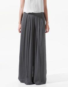 Zara Fluid Wide Leg Trousers