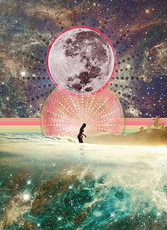 Quotes & Sayings Moon Musings: How The New Moon in Libra (March Will Affect Y – Love By Luna Full Moon In Libra, New Moon, Cosmic Art, Moon Illustration, Hippie Art, Moon Art, Moon Child, Surreal Art, Sacred Geometry