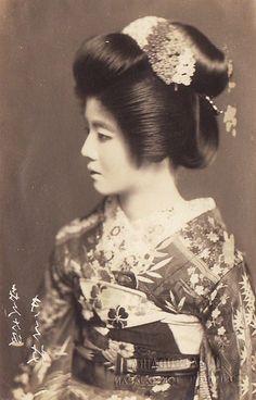 geishas art | Vintage Japanese Kanzashi Geisha Hair Comb Pin Set | eBay