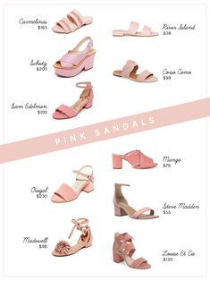 Think Pink: 10 Pink Sandals for Spring and Summer