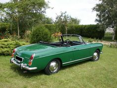 Peugeot 404 Cabriolet dad had a black one with red interior wish I could find that color one here
