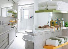 Banheiro e lavabo: reforma, decoração e organização