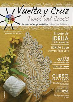 Vuelta y Cruz Nº10: Revista de bolillos / Twist and Cross N.10: Bobbin lace magazine (11€)