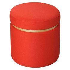 Room Essentials™ Storage Ottoman - Orange