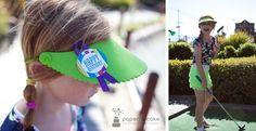 Printable Mod Stripe Mini-Golf Birthday Party Invitation & Decorations     Paper & Cake