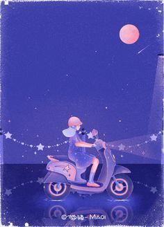 Anime Scenery Wallpaper, Cute Wallpaper Backgrounds, Cute Wallpapers, Animated Love Images, Animated Gif, Gifs, Graphic Design Illustration, Illustration Art, Animation Stop Motion