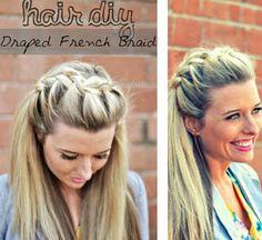 [DIY] – Drape French braid