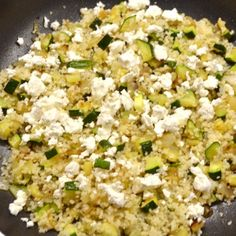 Cukkinis fetás kuszkusz recept KÖ! Fried Rice, Food And Drink, Ethnic Recipes, Kochen, Nasi Goreng, Stir Fry Rice