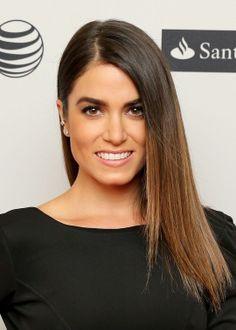 Nikki Reed's sexy sleek hair and eye makeup