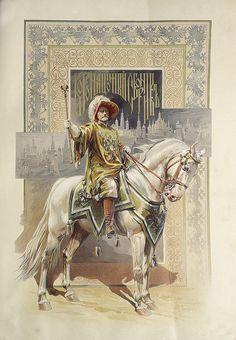 Illustration from The Coronation of Tsar Nicholas II (14th May 1896).