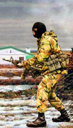 British SAS Commando, Falklands War