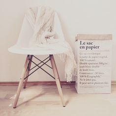 Love eames and Le sac en papier, merci merci paperbag anjiko