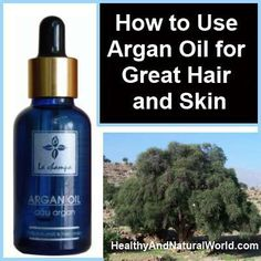 benefits of argan oil for hair and skin