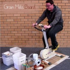 How to Build a Pedal Powered Homesteading Grain Mill Homesteading  - The Homestead Survival .Com