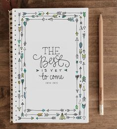 2014-2015 12-month Academic Planner – The Best Is Yet To Come (with back pocket)