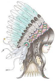 indian girl illustration - Google Search