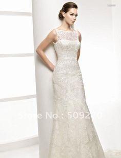 Buy a vintage wedding gown http://dresseslux.com/china-cheap-ed-fairy-vintage-lace-wedding-dresses-satin-a-line/
