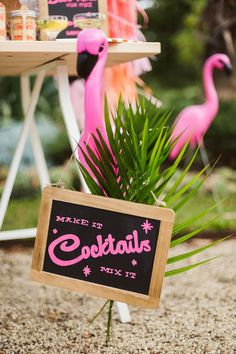 The Little Big Company the blog: A Palm Springs Party by Studio Cake and Cheer Co.