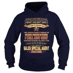 SALES SPECIAL AGENT T Shirts, Hoodie