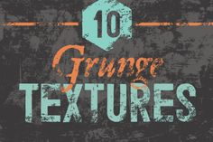 Grunge Textures by GhostlyPixels on Creative Market