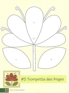 Flores para aplicação | Flickr - Photo Sharing! - cute and quick applique flowers