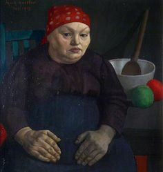 The Artist's Mother, 1913 by Mark Gertler (British 1891‑1939)